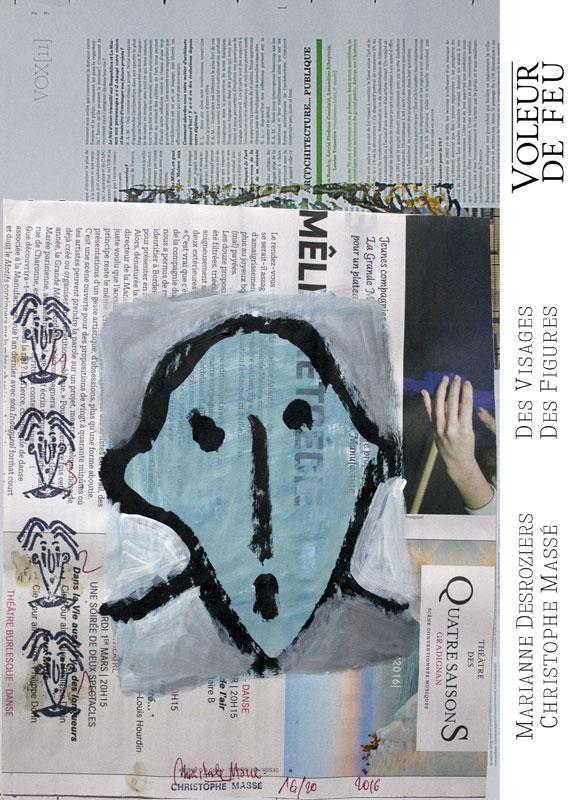 Voleur de feu N°4 – Des visages Des figures – Tête 16