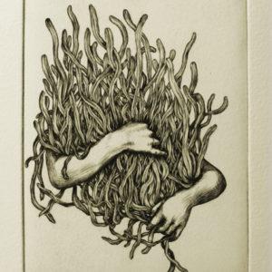 Voleur de feu, au toucher sa peau brille, Christian Degoutte, Iris Miranda, collection