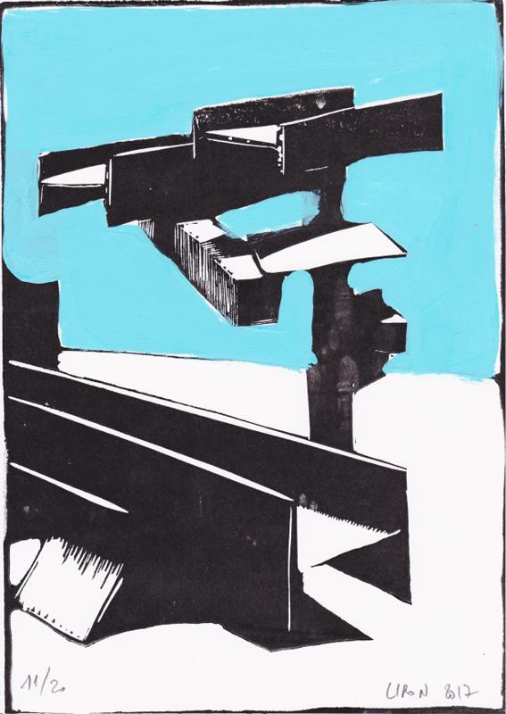 Voleur de feu, Les espaces dansent, J. Liron, J. Roy, Collection 11