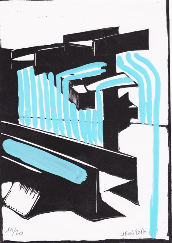 Voleur de feu, Les espaces dansent, J. Liron, J. Roy, Collection 14