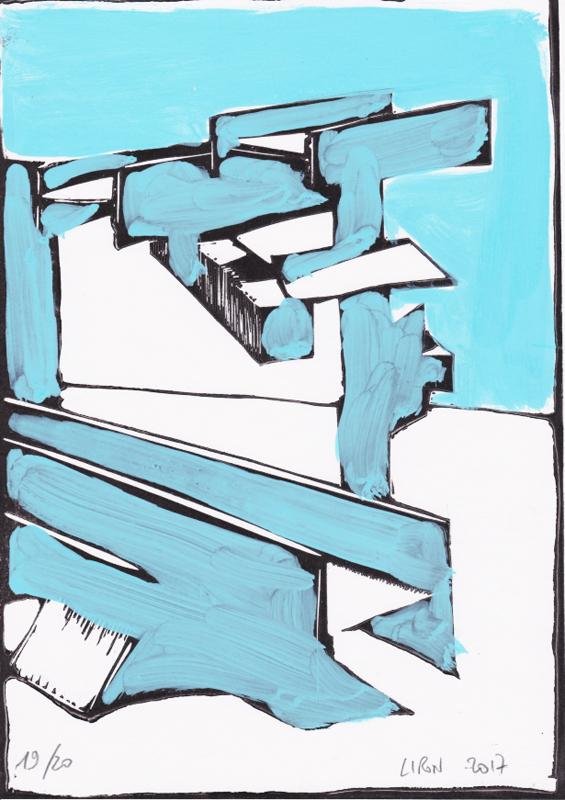 Voleur de feu, Les espaces dansent, J. Liron, J. Roy, Collection 19