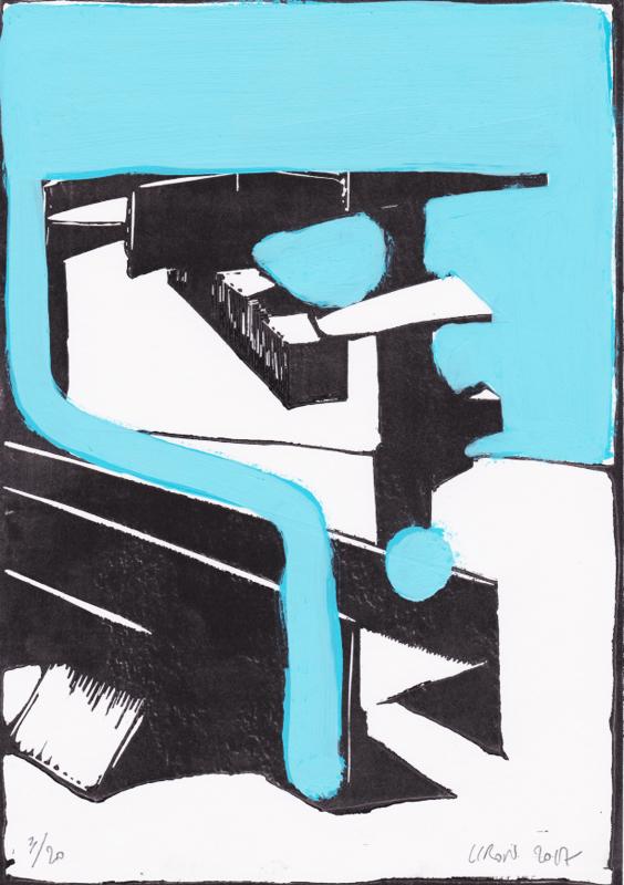 Voleur de feu, Les espaces dansent, J. Liron, J. Roy, Collection 3