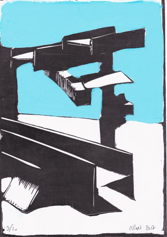 Voleur de feu, Les espaces dansent, J. Liron, J. Roy, Collection 9