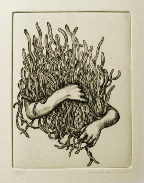 Voleur de feu, Au toucher sa peau brille, C. Degoutte, I. Miranda, Collection
