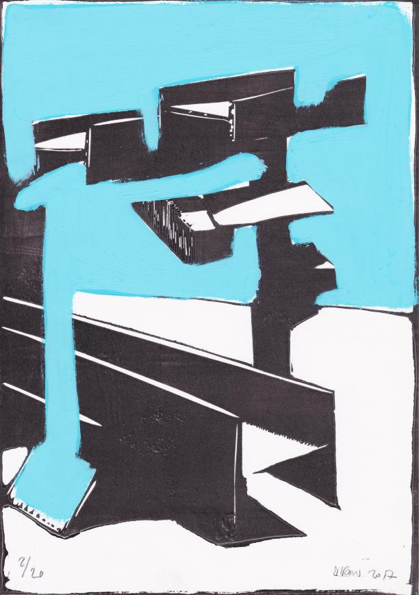 Voleur de feu, Les espaces dansent, J. Liron, J. Roy, Collection 2