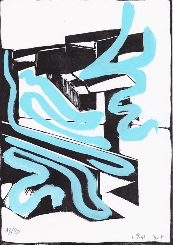 Voleur de feu, Les espaces dansent, J. Liron, J. Roy, Collection 13