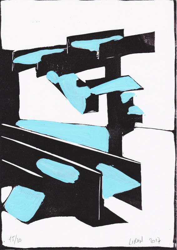 Voleur de feu, Les espaces dansent, J. Liron, J. Roy, Collection 15