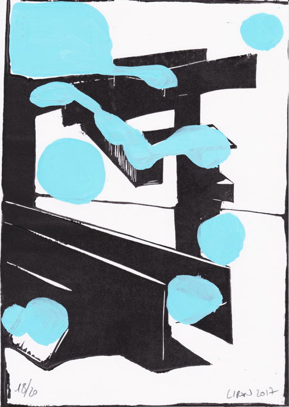 Voleur de feu, Les espaces dansent, J. Liron, J. Roy, Collection 18