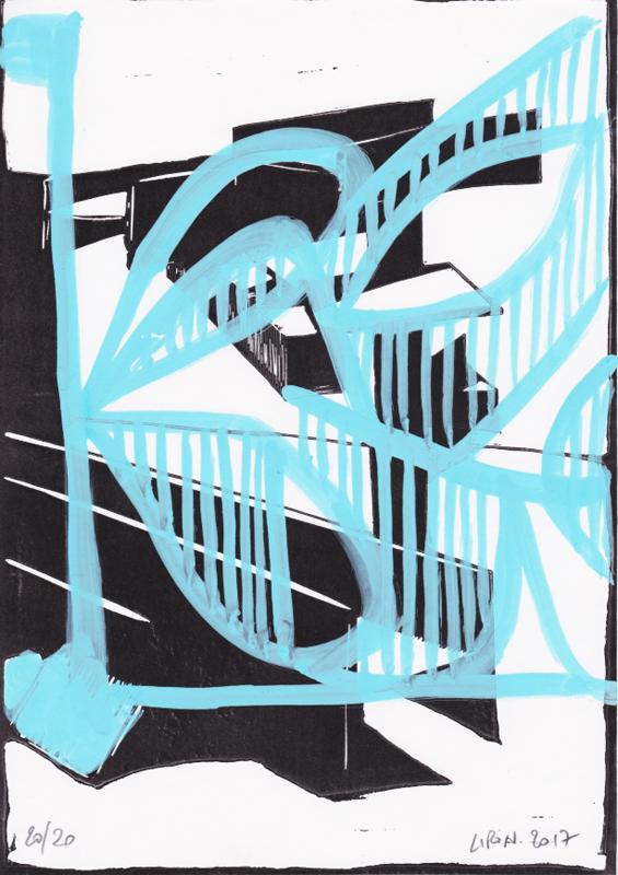 Voleur de feu, Les espaces dansent, J. Liron, J. Roy, Collection 20
