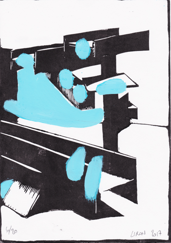 Voleur de feu, Les espaces dansent, J. Liron, J. Roy, Collection 6
