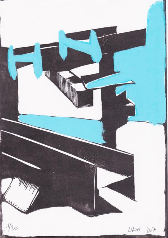 Voleur de feu, Les espaces dansent, J. Liron, J. Roy, Collection 7