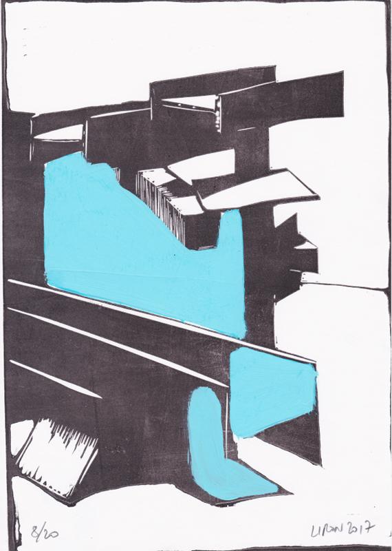 Voleur de feu, Les espaces dansent, J. Liron, J. Roy, Collection 8