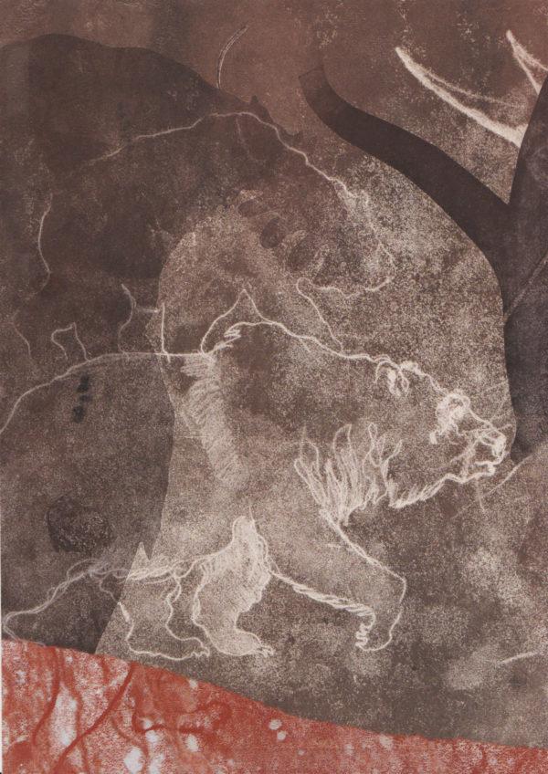 Voleur de feu 10, entrer dans la caverne, Mylene Mouton, Colette Reydet, Collection, numerote 7
